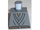 Part No: 973pb0120  Name: Torso SW Layered Shirt, Brown Belt Pattern (Mace Windu)