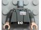Part No: 973pb0229c01  Name: Torso SW Imperial Officer 2 (Grand Moff) Pattern / Dark Bluish Gray Arms / Light Nougat Hands