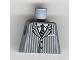 Part No: 973pb0323  Name: Torso Suit Pinstripe Jacket and Striped Tie Pattern