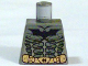 Part No: 973pb0492  Name: Torso Batman Logo with Body Armor and Copper Belt Pattern