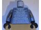 Part No: 973pb0800c01  Name: Torso Atlantis Hammerhead Warrior Pattern / Dark Bluish Gray Arms / Black Hands