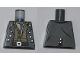 Part No: 973pb0881  Name: Torso PotC Vest over Dark Tan Shirt and Light Bluish Gray Scarf Pattern