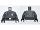 Part No: 973pb1065c01  Name: Torso SW Imperial Officer 1 (Commander) with Black Belt Pattern / Dark Bluish Gray Arms / Black Hands