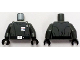 Part No: 973pb1793c01  Name: Torso SW Imperial Officer 5 (Captain) Pattern / Dark Bluish Gray Arms / Black Hands