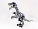 Part No: Baryonyx01  Name: Dinosaur Baryonyx with Dark Blue and Metallic Light Blue Spots