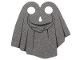 Part No: bb0853pb01  Name: Minifigure, Cape Cloth, Tattered with Hood Pattern - Traditional Starched Fabric