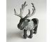 Part No: reindeerpb01  Name: Reindeer, Frozen with Light Bluish Gray Antlers and Fur around Neck Pattern (Sven)