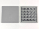 Part No: 10202  Name: Tile 6 x 6 with Bottom Tubes