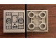 Part No: 11203pb041  Name: Tile, Modified 2 x 2 Inverted with SW Machinery Pattern (Sticker) - 75244