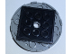 Part No: 11213c02  Name: Turntable 6 x 6 x 2/3 Top with Black Square Base, Free-Spinning (11213 / 61485)