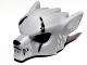 Part No: 11233pb01  Name: Minifigure, Headgear Mask Wolf with Fangs, Scars and White Ears Pattern