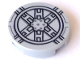 Part No: 14769pb025  Name: Tile, Round 2 x 2 with Bottom Stud Holder with Black SW Tie Fighter Pattern