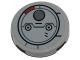 Part No: 14769pb197  Name: Tile, Round 2 x 2 with Bottom Stud Holder with SW Resistance Transport Pod Hatch Pattern (Sticker) - Set 75176