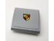 Part No: 15068pb204  Name: Slope, Curved 2 x 2 No Studs with Porsche Logo Pattern (Sticker) - Set 75910