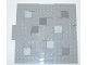 Part No: 15623pb001  Name: Brick, Modified 16 x 16 x 2/3 with 1 x 4 Indentations and 1 x 4 Plate with Stones Pattern