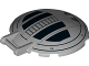 Part No: 18675pb01  Name: Dish 6 x 6 Inverted - No Studs with Handle with SW TIE Advanced Hatch Pattern