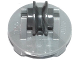 Part No: 2655c04  Name: Plate, Round 2 x 2 Thin with Wheel Holders and Dark Bluish Gray Pulley Wheel (2655 / 3464)