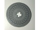 Part No: 2958pb086  Name: Technic, Disk 3 x 3 with Hubcap Pattern