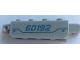 Part No: 30387pb018  Name: Hinge Brick 1 x 4 Locking, 9 Teeth with '60192' Pattern on Both Sides (Stickers) - Set 60192