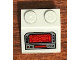 Part No: 3039pb126  Name: Slope 45 2 x 2 with SW Resistance Bomber Control Panel with Red Screen Pattern (Sticker) - Set 75188