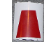 Part No: 30562pb026  Name: Cylinder Quarter 4 x 4 x 6 with Dark Red Trapezoid Pattern (Sticker) - Set 7964