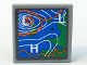 Part No: 3068bpb0166  Name: Tile 2 x 2 with Groove with Weather Map Pattern (Sticker) - Set 7739