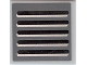 Part No: 3068bpb0406  Name: Tile 2 x 2 with Groove with Grille Pattern (Sticker) - Set 7661