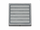 Part No: 3068bpb0822  Name: Tile 2 x 2 with Groove with Dark Bluish Gray Grille Seven Bars Pattern (Sticker) - Set 75022