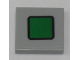 Part No: 3068bpb1165  Name: Tile 2 x 2 with Groove with Green Rounded Square with Black Border Pattern (Sticker) - Set 60197