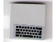 Part No: 3068bpb1195  Name: Tile 2 x 2 with Groove with Black Keyboard Pattern (Sticker) - Set 75876