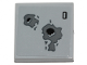 Part No: 3068bpb1278  Name: Tile 2 x 2 with Groove with Blaster Marks Pattern (Sticker) - Set 75257