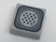 Part No: 3070bpb118  Name: Tile 1 x 1 with Groove with Telephone Speaker Pattern