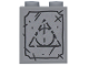 Part No: 3245cpb106  Name: Brick 1 x 2 x 2 with Inside Stud Holder with Triangle Tombstone Pattern (Sticker) - Set 75965