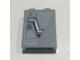 Part No: 3245cpb140L  Name: Brick 1 x 2 x 2 with Inside Stud Holder with SW Bridge Door Pattern Model Left Side (Sticker) - Set 10221
