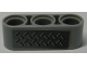 Part No: 32523pb19  Name: Technic, Liftarm 1 x 3 Thick with Tread Plate Pattern (Sticker) - Set 42009