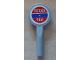 Part No: 3900pb04  Name: Minifigure, Utensil Signal Paddle with 'TEXAS TEA' Pattern (Sticker) - Set 8487