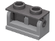 Part No: 3937c05  Name: Hinge Brick 1 x 2 Base with Dark Bluish Gray Hinge Brick 1 x 2 Top (3937 / 3938)