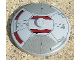 Part No: 3960pb008  Name: Dish 4 x 4 Inverted (Radar) with Solid Stud with Mini Sith Infiltrator Pattern