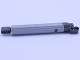 Part No: 40918c01  Name: Technic, Linear Actuator Long with Dark Bluish Gray Ends