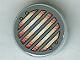 Part No: 4150pb058  Name: Tile, Round 2 x 2 with Headlight Pattern (Sticker) - Set 7475