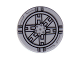 Part No: 4150pb086  Name: Tile, Round 2 x 2 with Black SW Tie Fighter Pattern (9492)