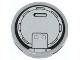 Part No: 4150pb139  Name: Tile, Round 2 x 2 with Filler Cap Pattern (Sticker) - Set 60021