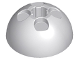 Part No: 44359  Name: Cylinder Hemisphere 3 x 3 Ball Turret