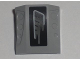 Part No: 44675pb003R  Name: Slope, Curved 2 x 2 with 3 Side Ports Recessed with Gray Exhaust Pattern Model Right (Sticker) - Set 5970