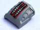 Part No: 44675pb010  Name: Slope, Curved 2 x 2 with 3 Side Ports Recessed with Engine Pattern (Sticker) - Set 8642
