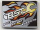 Part No: 4515pb030  Name: Slope 10 6 x 8 with Flaming Wrench 'BSC Brick Street Customs' Pattern (Sticker) - Set 8681