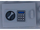 Part No: 4533pb021  Name: Container, Cupboard 2 x 3 x 2 Door with Handle and Keypad Pattern (Sticker) - Set 60142