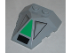 Part No: 47757pb02  Name: Wedge 4 x 4 Pyramid Center with SW Clone Walker Pattern