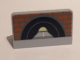 Part No: 4865pb056  Name: Panel 1 x 2 x 1 with Brick Wall and Tunnel Pattern