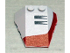 Part No: 48933pb002  Name: Wedge 4 x 4 Triple with Stud Notches with Set 7260 Left Pattern